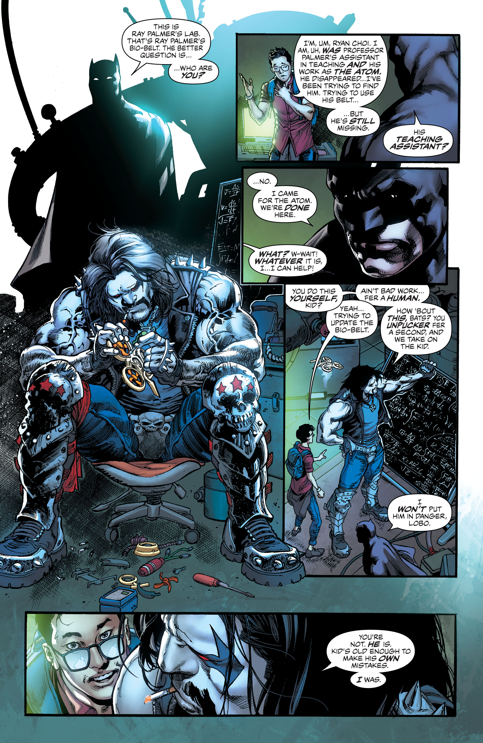 The Atom recruits the Ray and it looks like the Atom still needs a ... Black Canary Birds Of Prey