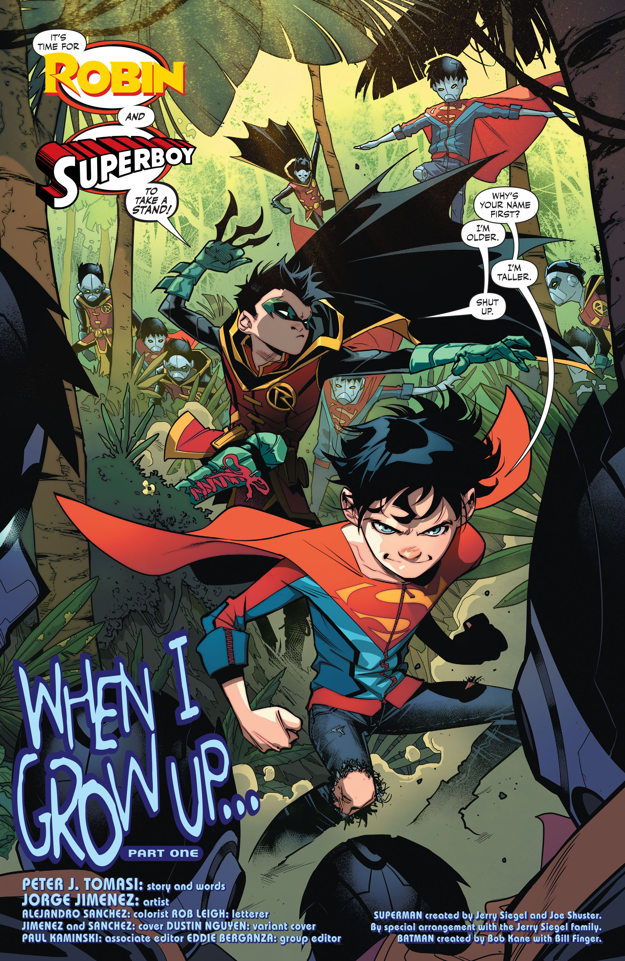 DC Comics Rebirth Spoilers & Review: Super Sons #1 Big ...