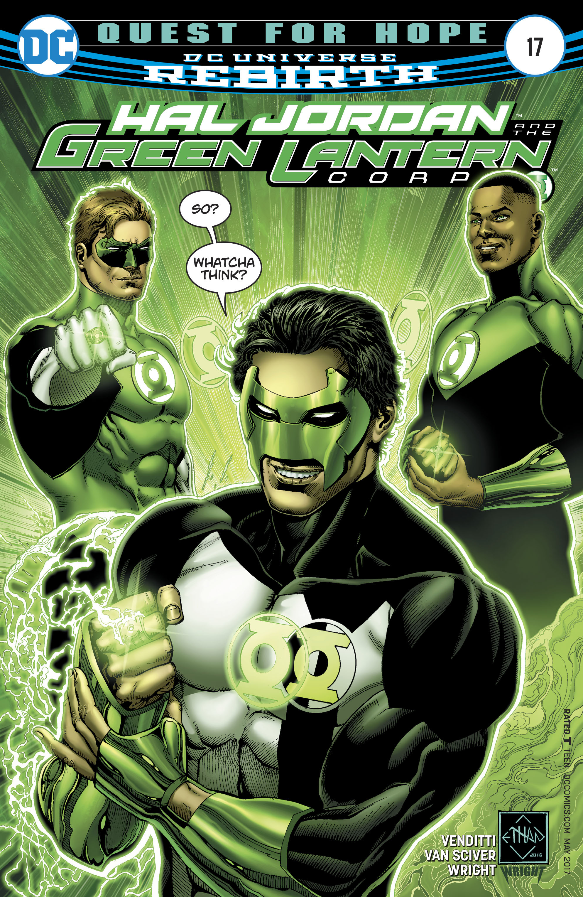 Dc Comics Rebirth Spoilers Amp Review Kyle Rayner Rebirth