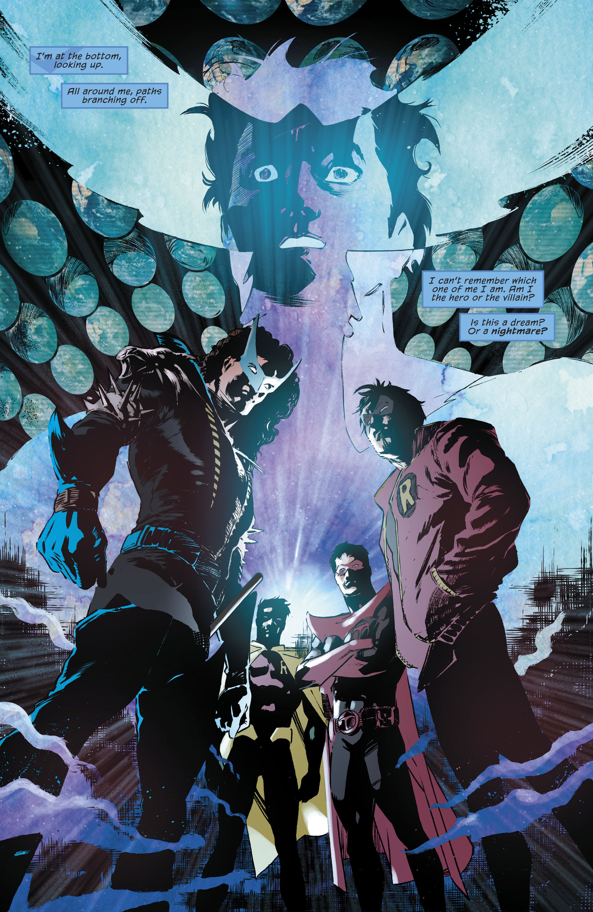 Dc Comics Rebirth Spoilers Amp Review Nightwing 17 With A