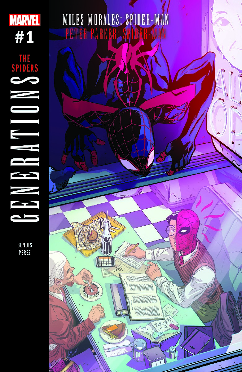 e3b72d51ee7cdc Marvel Comics September 2017 Solicitations Spoilers   July 2017 Preview   Spider-Men II  1 Has 2 Spider-Man   2 Miles Morales  Generations  Spiders   1 Leaves ...