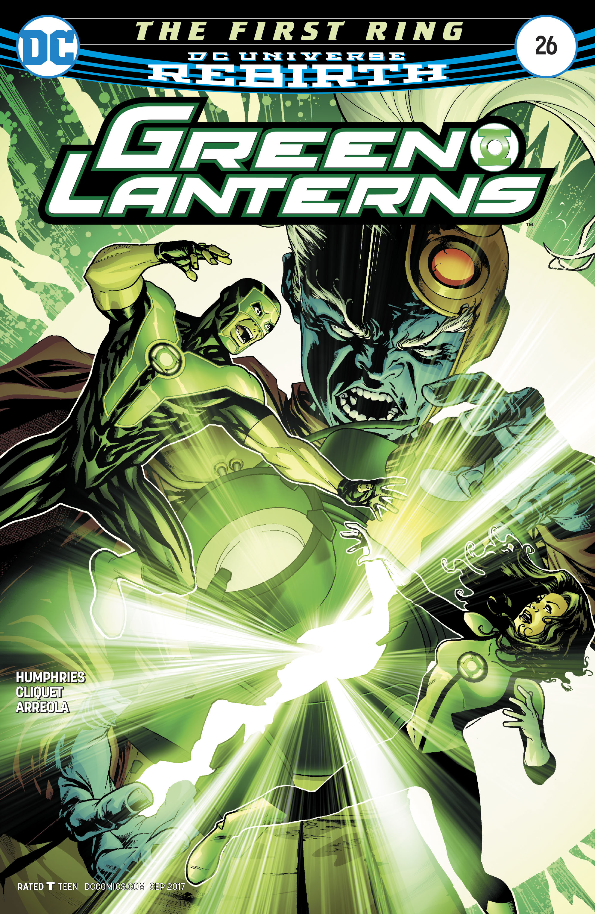 DC Comics Rebirth Spoilers & Review: Green Lanterns #26 ...