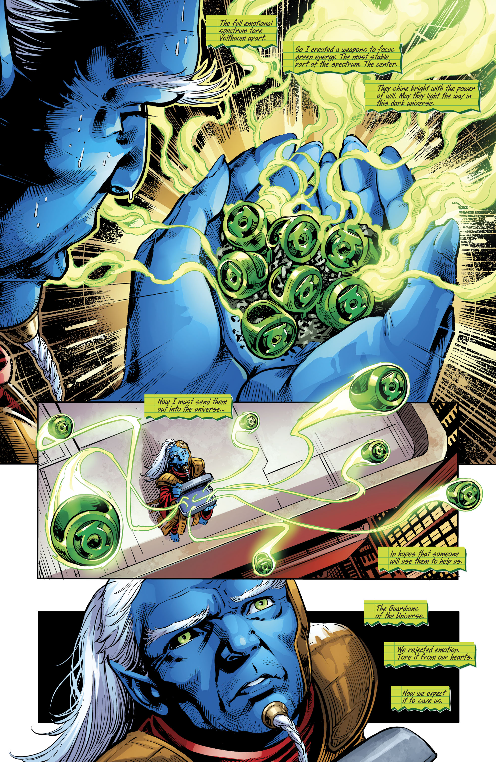 Dc Comics Rebirth Spoilers Amp Review Green Lanterns 26