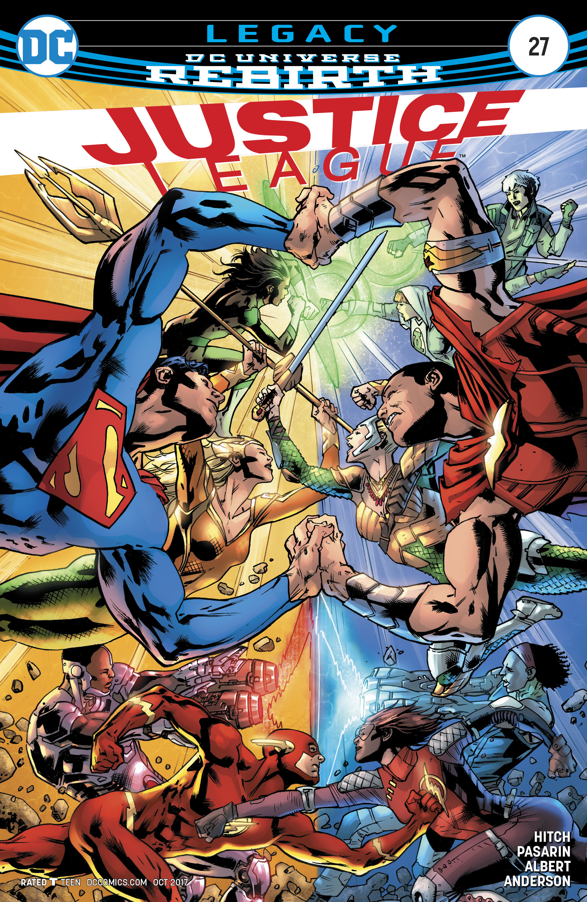 The Justice Tarot Card Meaning In Readings Verdict: DC Comics Rebirth Spoilers: Justice League #27 Reveals The
