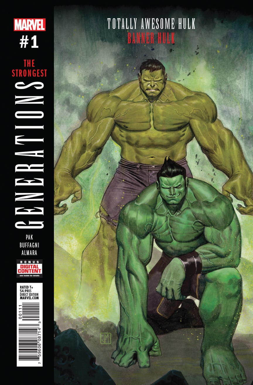 It is a graphic of Effortless Picture of the Hulk