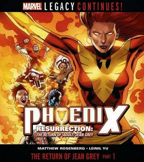 Jean Grey Returns This Winter In Phoenix Resurrection