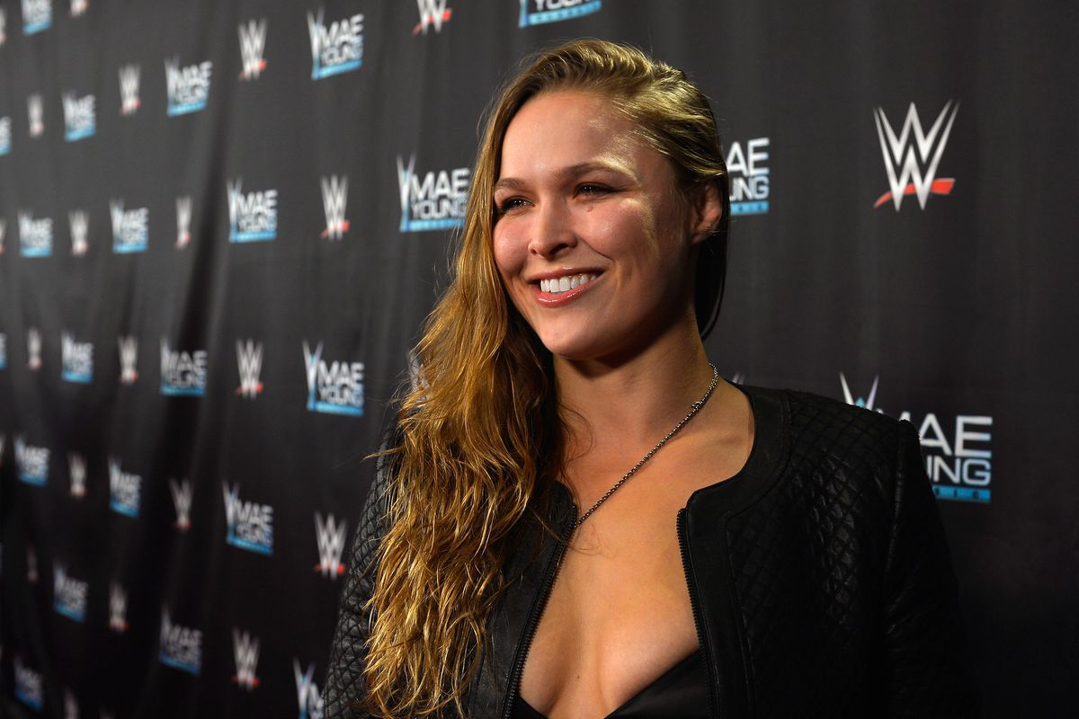 Ronda Rousey teases signing with the WWE