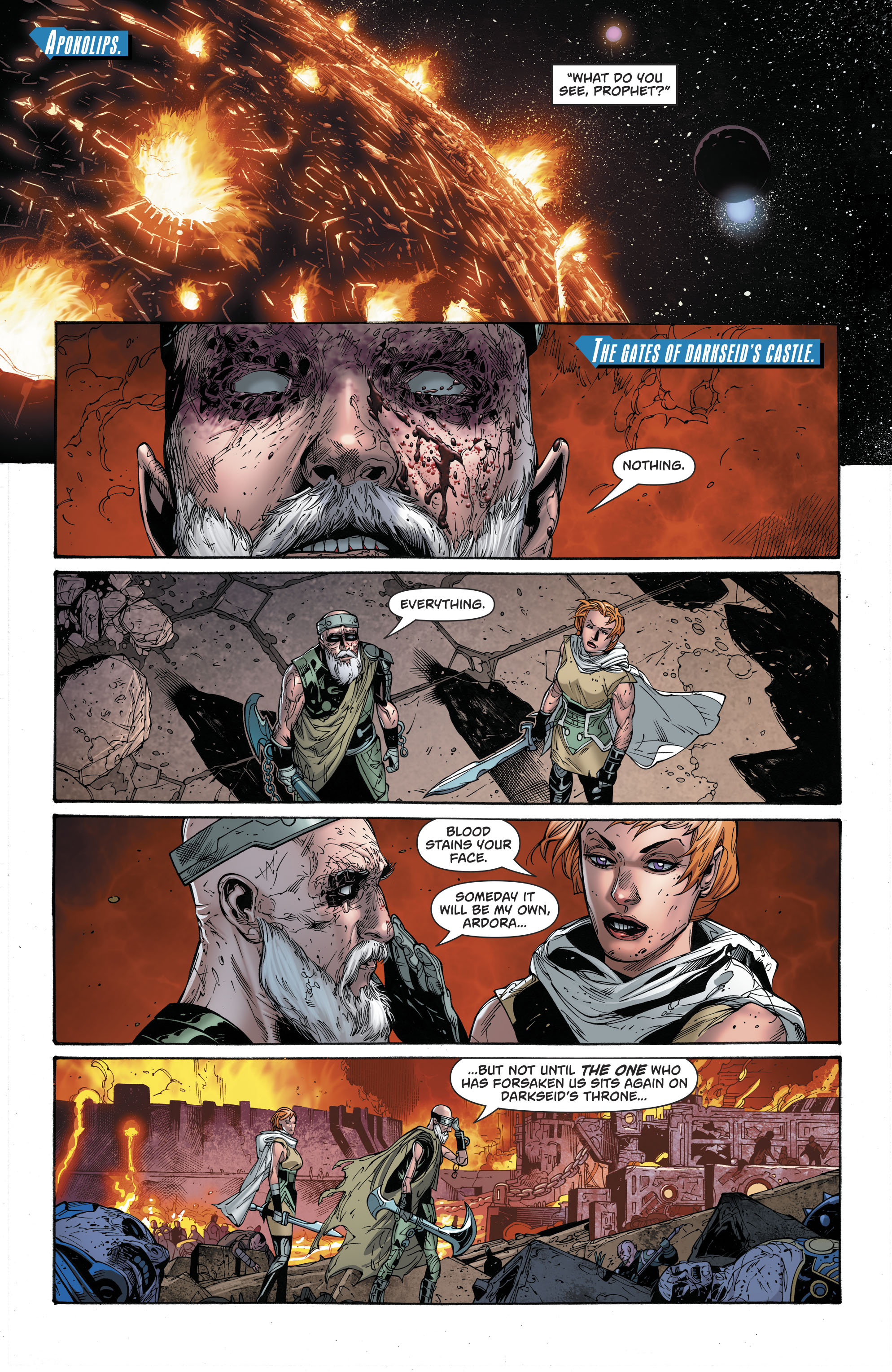 Dc comics rebirth spoilers superman 33 what has lex luthor this concerns a blind prophet and ardora who we saw during darksied war a few years ago thecheapjerseys Image collections