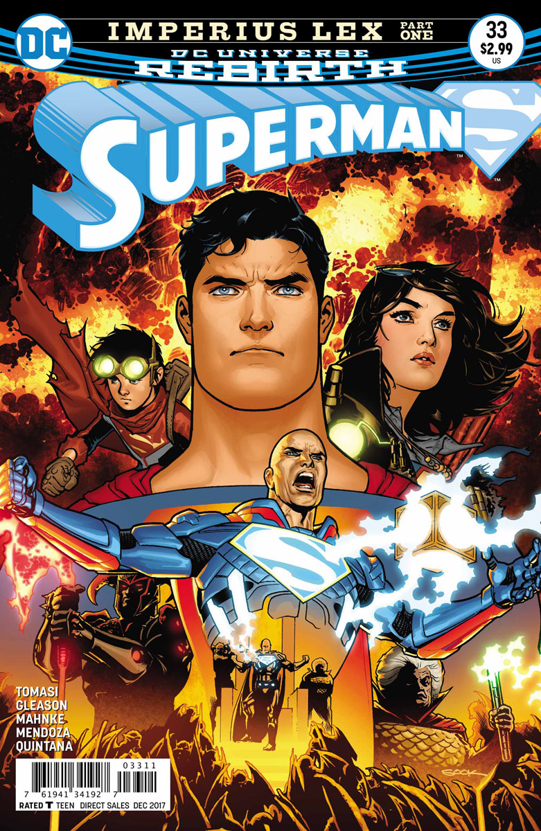 Dc comics rebirth spoilers superman 33 what has lex luthor superman 33 opens on apokolips darkseids world and the civil war that has broken out since his death this concerns a blind prophet and ardora altavistaventures Choice Image
