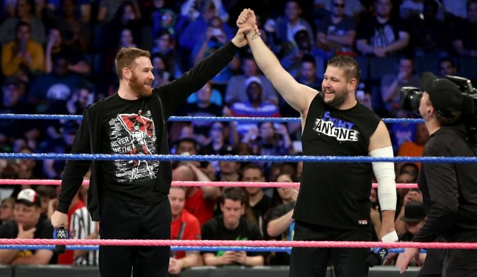 Kevin Owens and Sami Zayn removed from WWE European tour