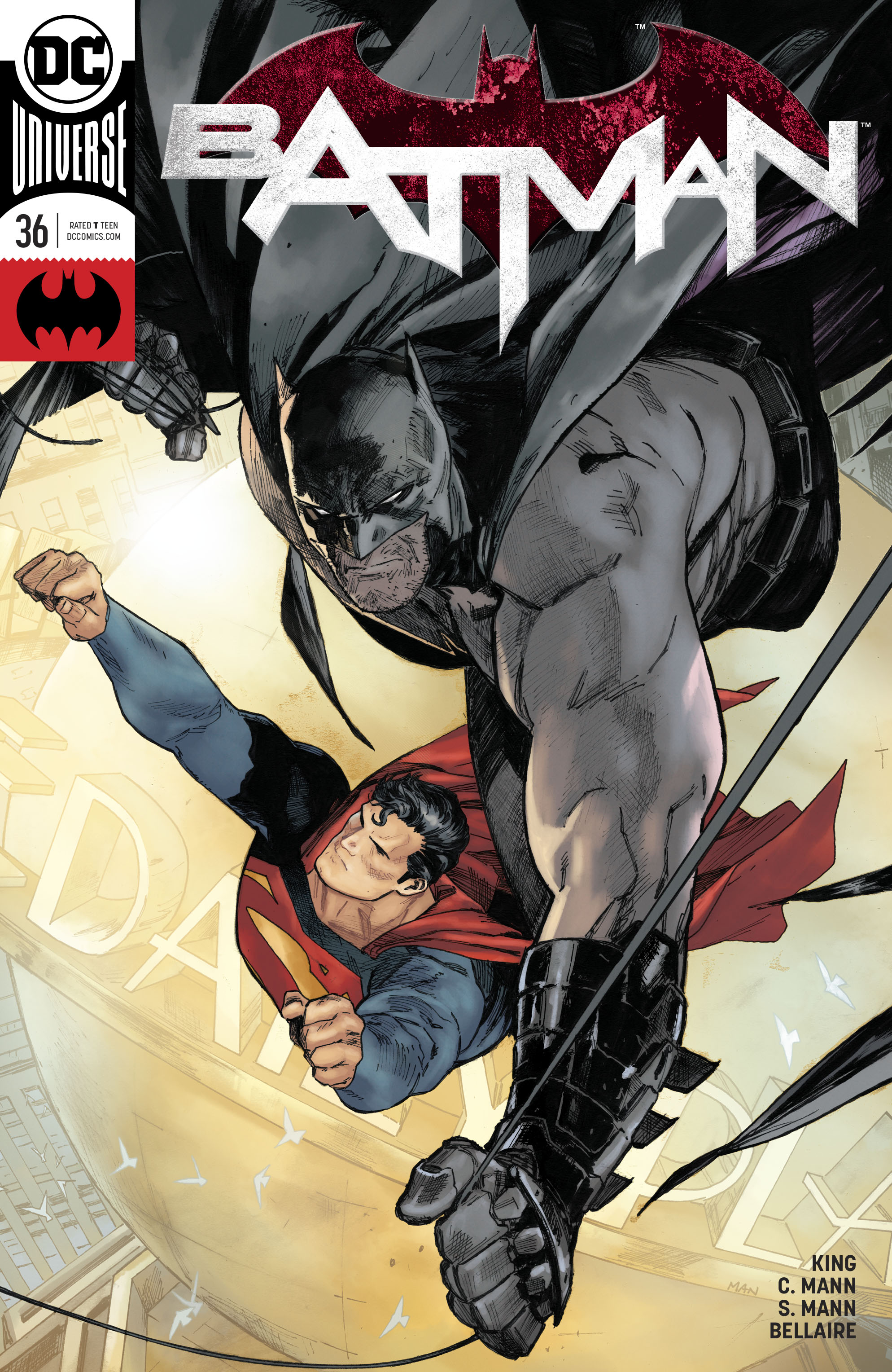 what comics did batman and superman meet