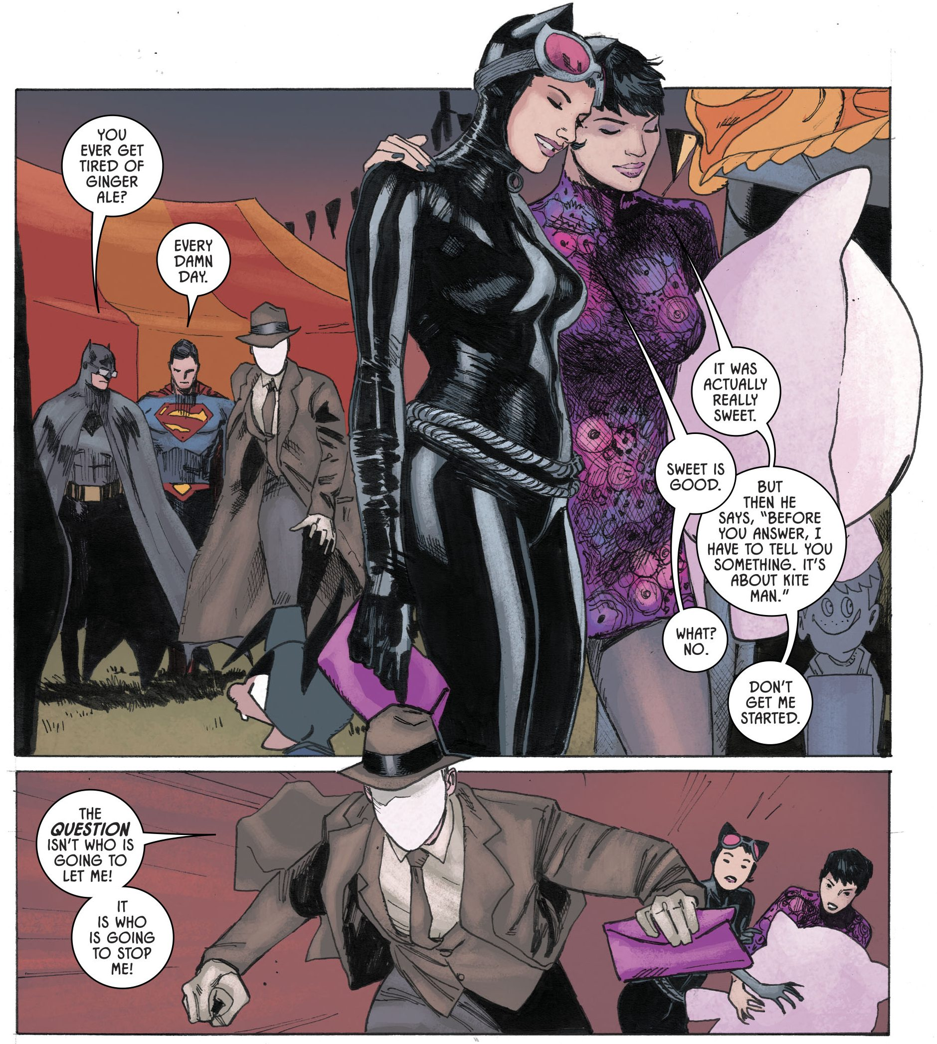 Inside BATMAN & CATWOMAN s Special Relationship With TOM KING