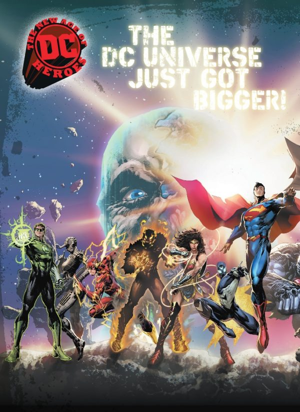 DC Comics Rebirth Universe / The New Age Of DC Heroes Post