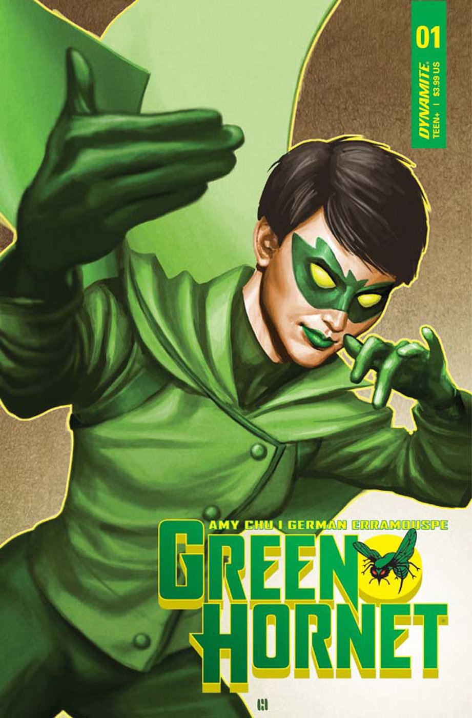 Dynamite & March 2018 Solicitations Spoilers: A New Green Hornet Takes Center Stage?! This Hero