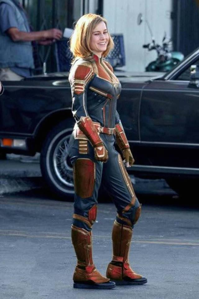 First Look At Actress Brie Larson As Captain Marvel In Marvel Cinematic Universe Plus A Recoloring on March Bulletin Board Ideas