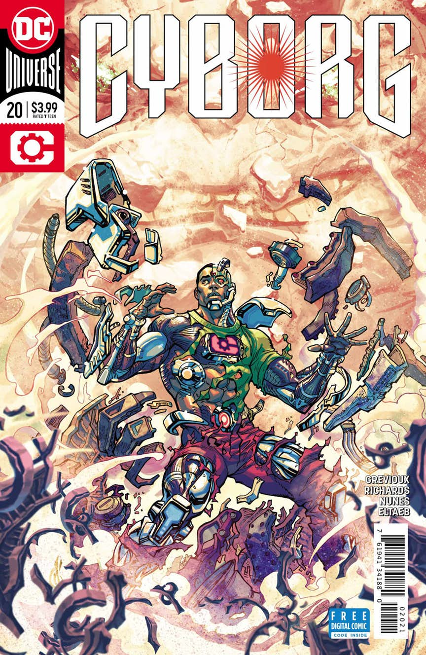 Dc Comics Universe Cyborg 20 Spoilers The Doom Patrol The