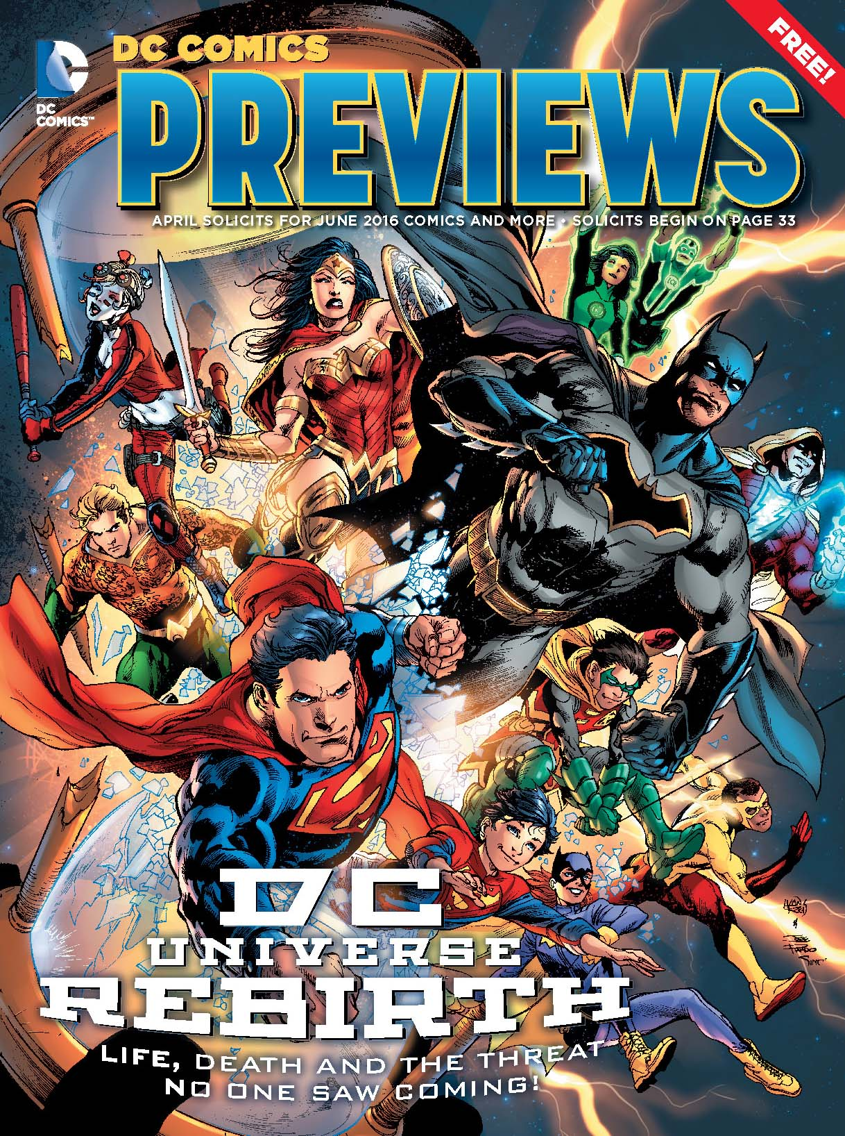 dc comics leaves main previews catologue from diamond