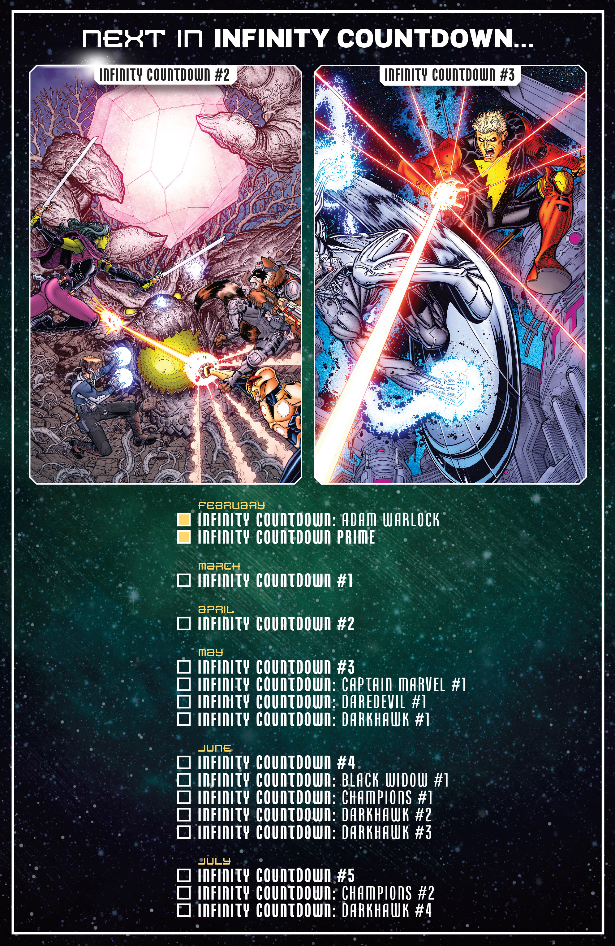 The Infinity Stones Explained And Infinity Countdown Checklist With Covers