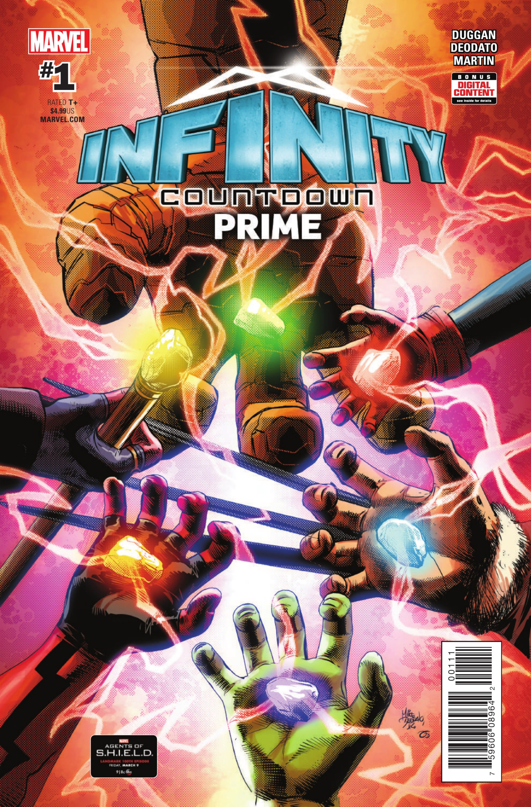 The Infinity Wart Saga Part 1 Issue: Marvel Comics Legacy & Infinity Countdown Prime #1