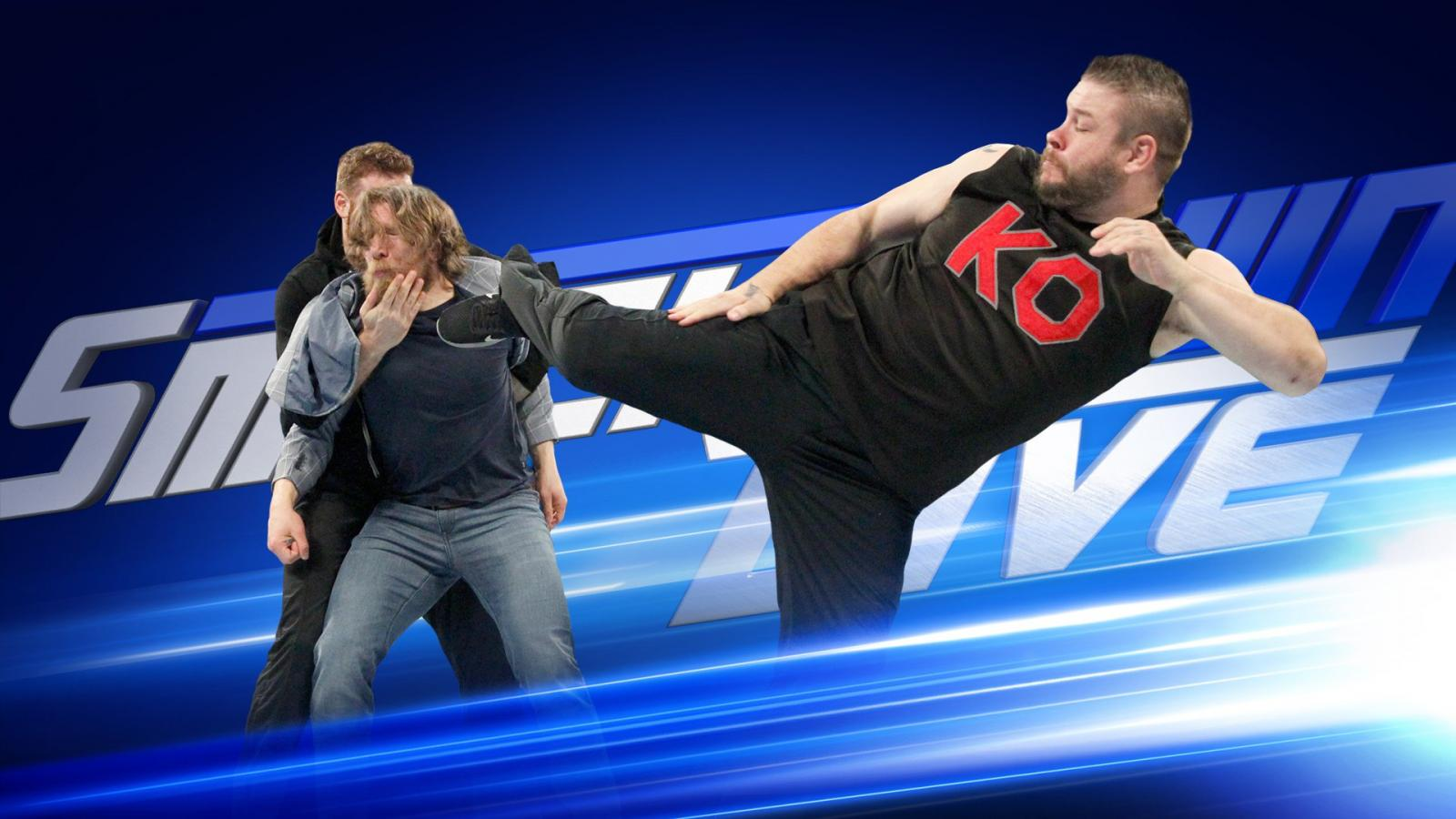 WWE SmackDown: Daniel Bryan to fight Owens and Zayn in WrestleMania 34