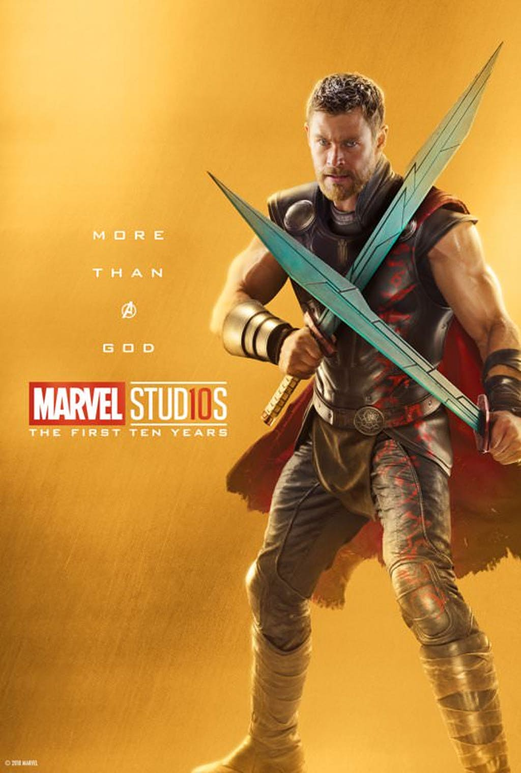 marvel studios releases wave 1 of 10th anniversary posters in lead up to avengers infinity war