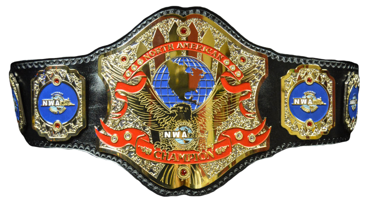 (1) Active NWA North American Heavyweight Championship Belt.