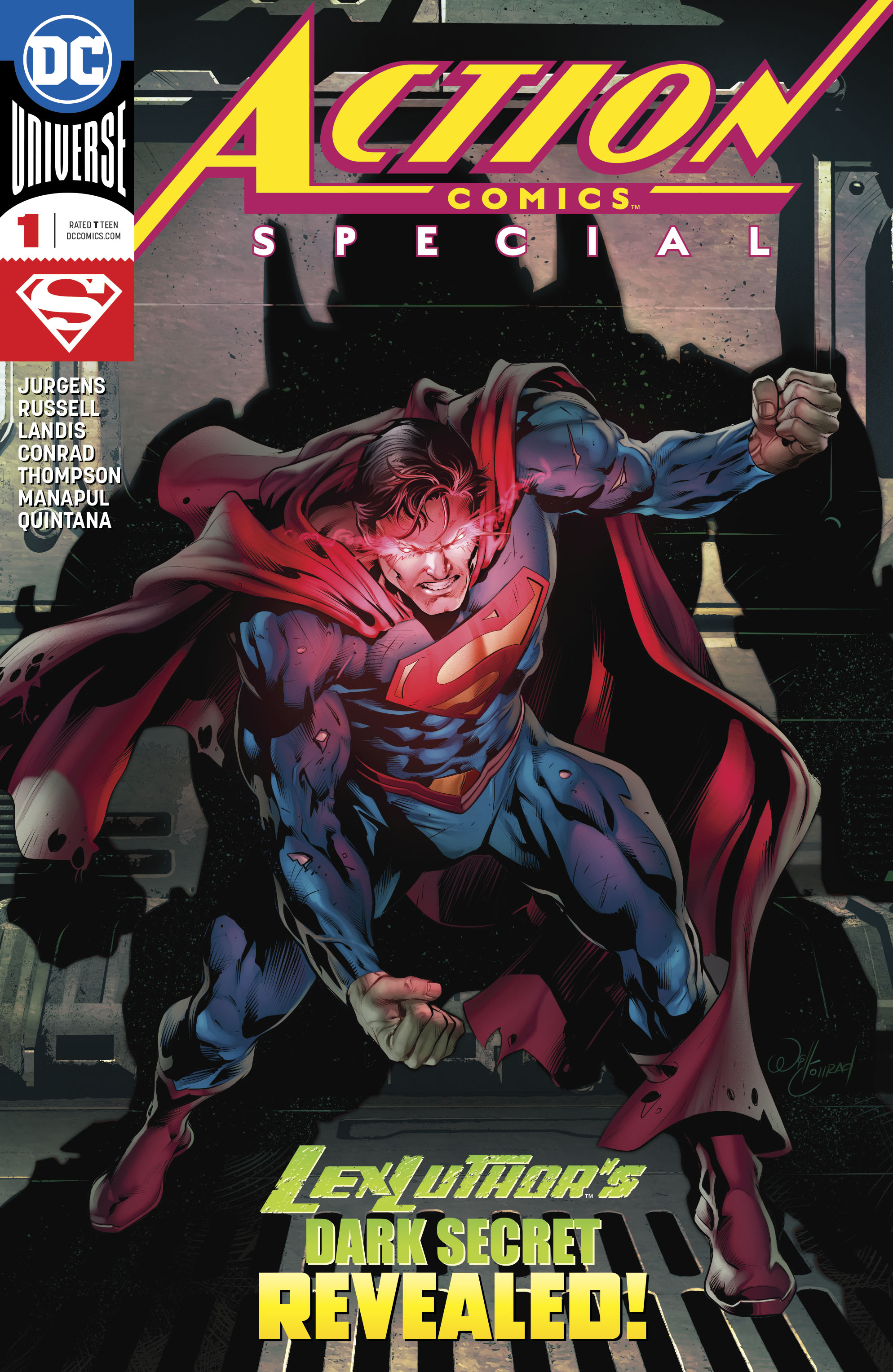 DC Comics Universe & Action Comics Special #1 Spoilers: DC Really Is ...