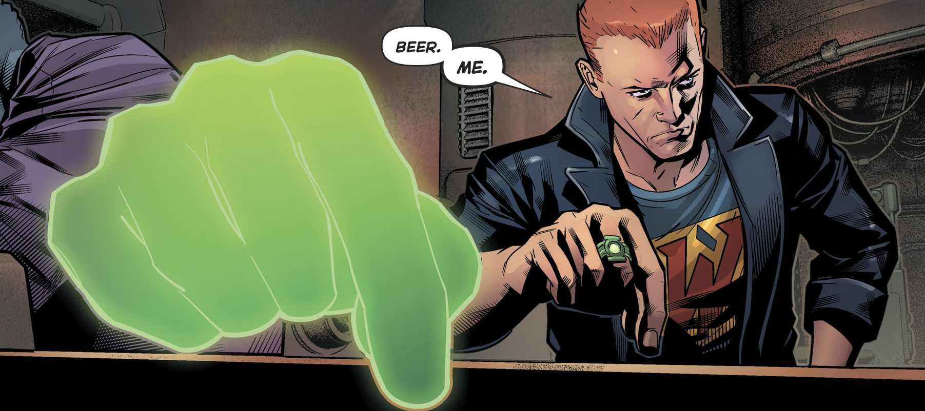 8df22f0b6147 …recruit the Yellow Lanterns through his drinking buddy Arkillo. Kyle Rayner  ...