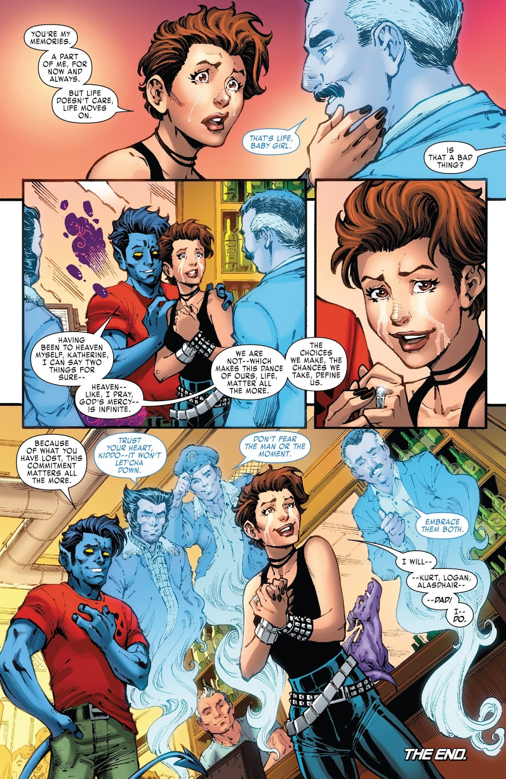 Kitty Pryde And Colossus Love Story – Comicnewbies |Shadowcat And Colossus Child