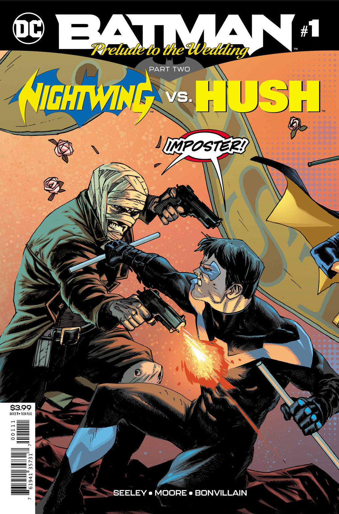 Dc Comics Universe Batman Prelude To The Wedding Nightwing Vs Hush 1 Spoilers Hush Returns Just In Time For Batman Catwoman S Wedding Via Preview Inside Pulse