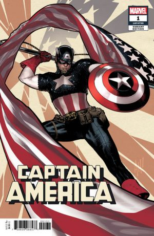 Captain America 1 Variant Covers To Close In On 25 For