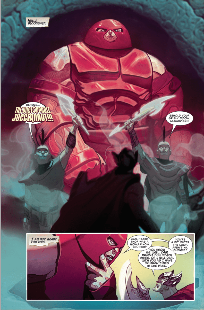 marvel comics universe  u0026 thor  1 spoilers  the avengers u2019 god of thunder gets a fresh start with