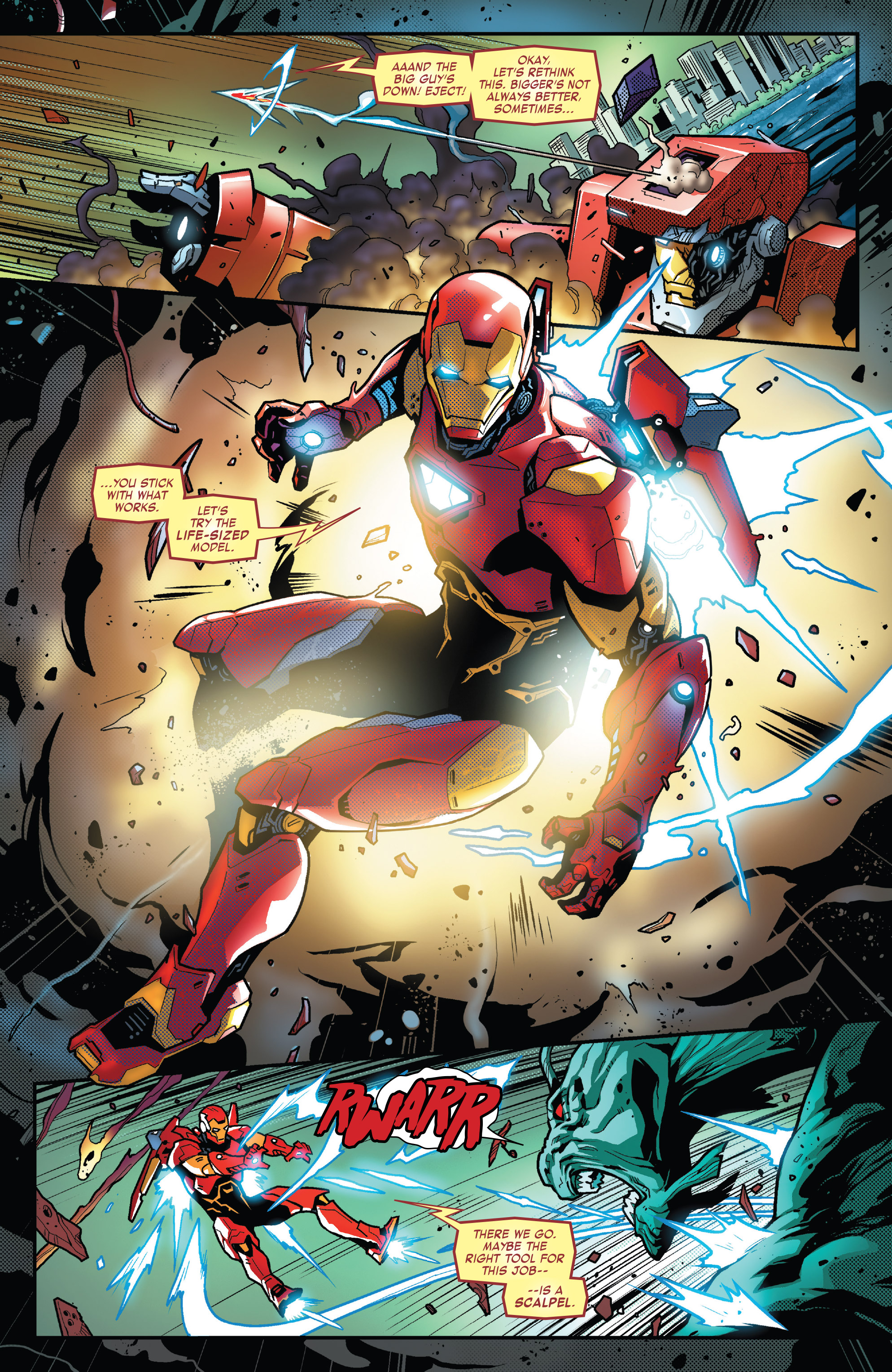 Marvel Comics Universe Tony Stark Iron Man 1 Spoilers A Fresh Start For Old Shell Head As An Interesting New Status Quo Revealed Plus At Least 2 New Armors Inside Pulse