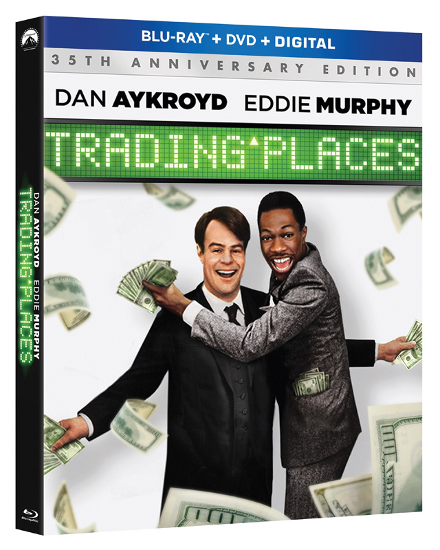 Unboxing Trading Places Blu-ray $$ - YouTube