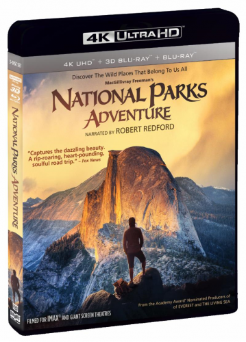 IMAX Movies About National Parks & STEM Come To 4K UHD In
