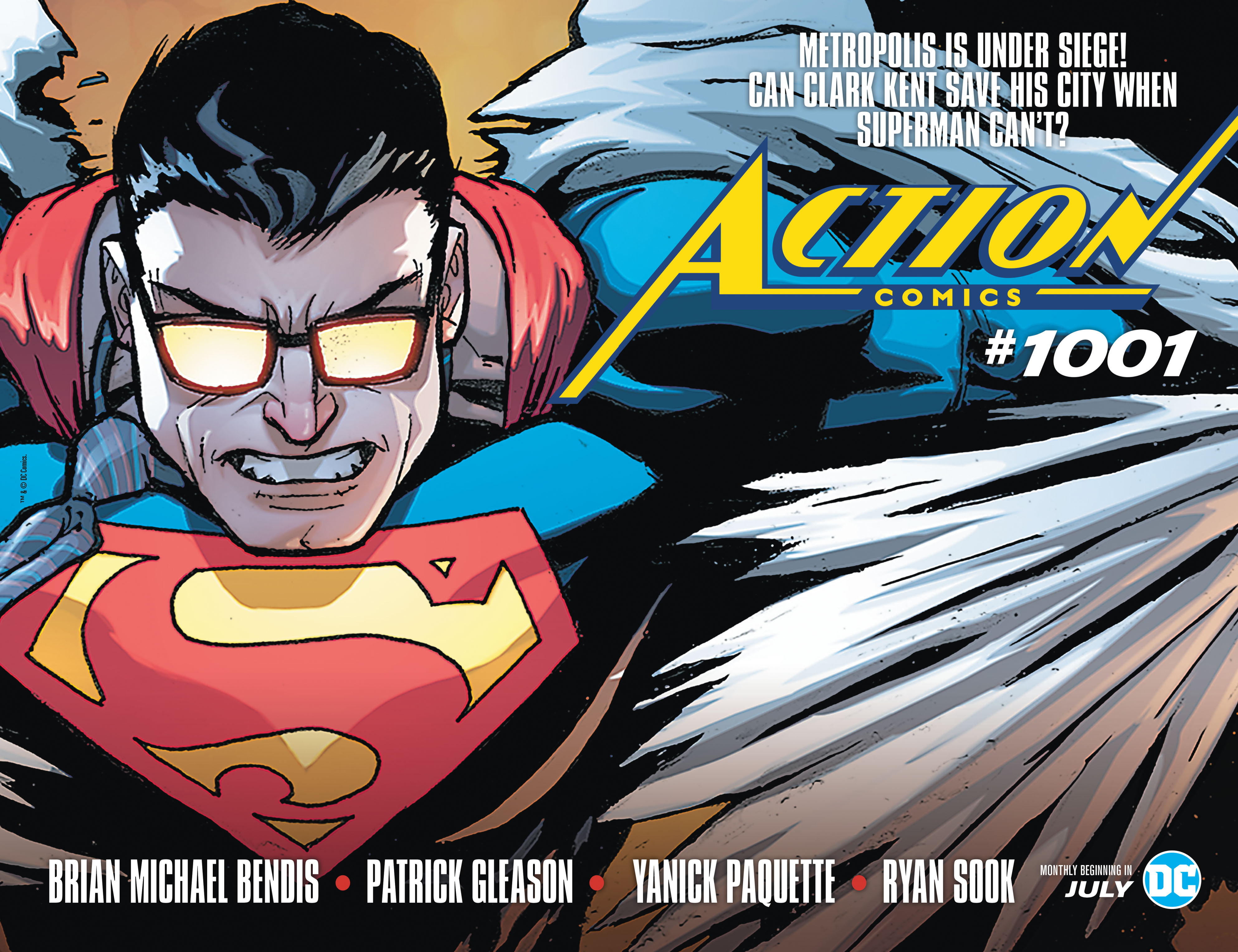 DC Comics Teases Action Comics #1001 In New House Ad! Clark Kent Is The  Real Hero, Not Superman?