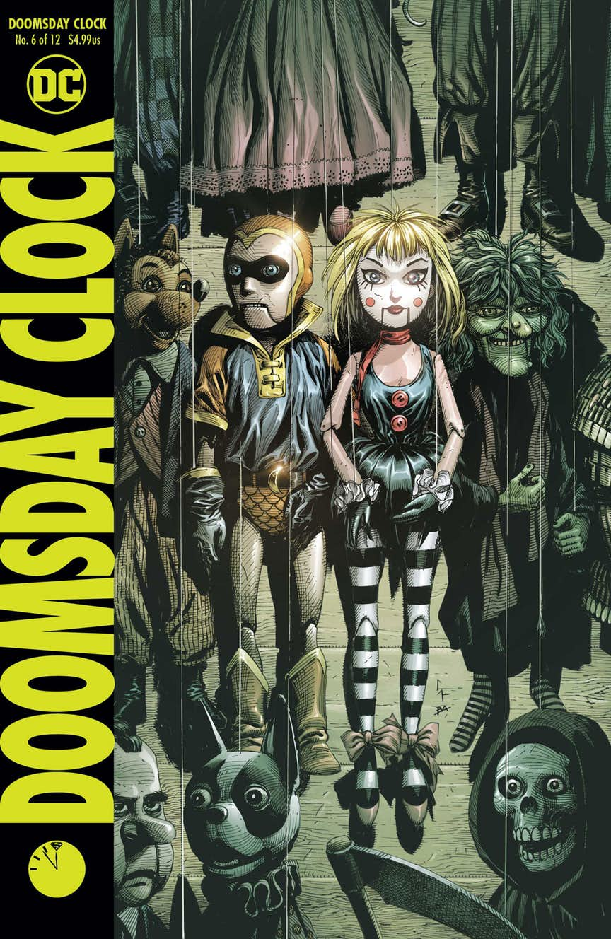 Dc Comics Universe Doomsday Clock 6 Spoilers Firestorm Villain Typhoon Takes Center Stage In The Front Back Of