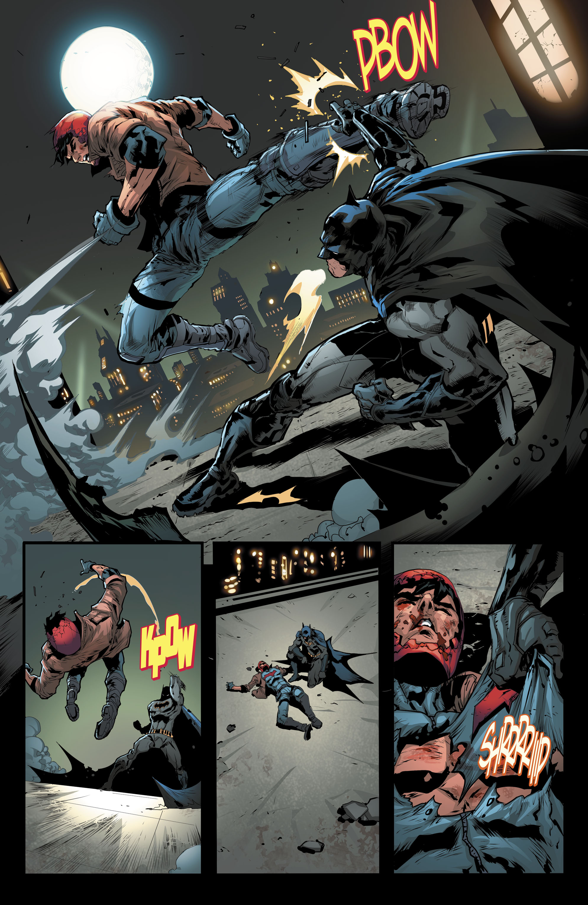 Dc Comics Universe Red Hood The Outlaws 25 Spoilers Who Helps