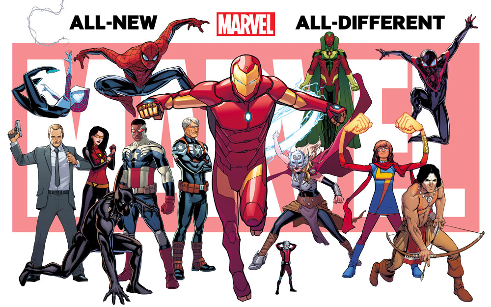 All-New All-Different Marvel branding 1