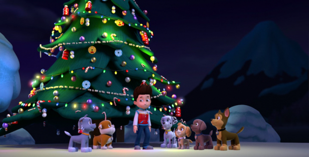 dvd review a very nick jr christmas paw patrol pups save christmas