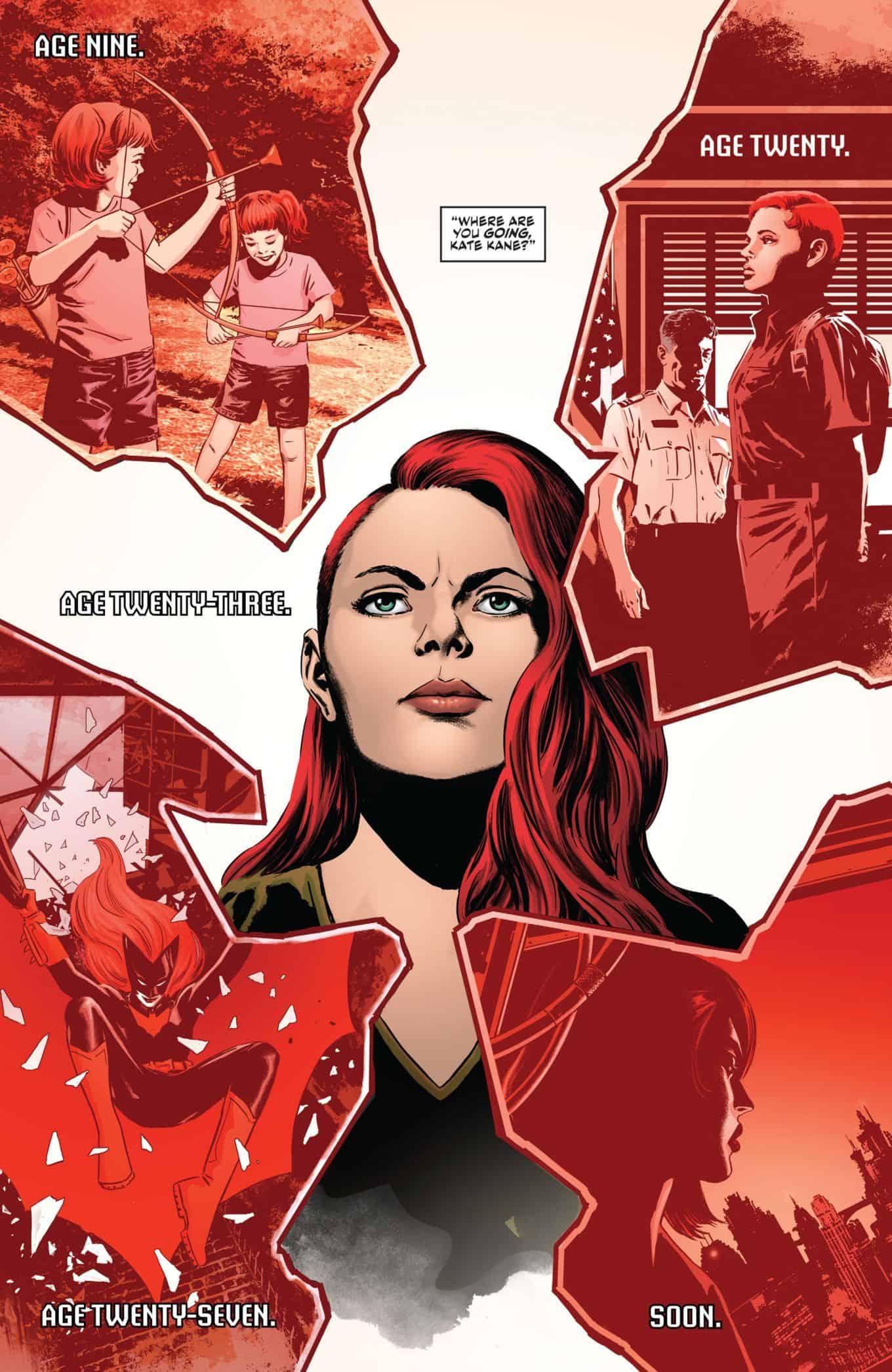 DC Comics Rebirth Spoilers: Batwoman Rebirth #1 Shows A ...