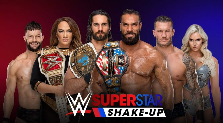 Wwe superstar shake up 2018 for monday night raw 04 16 18 - Monday night raw images ...