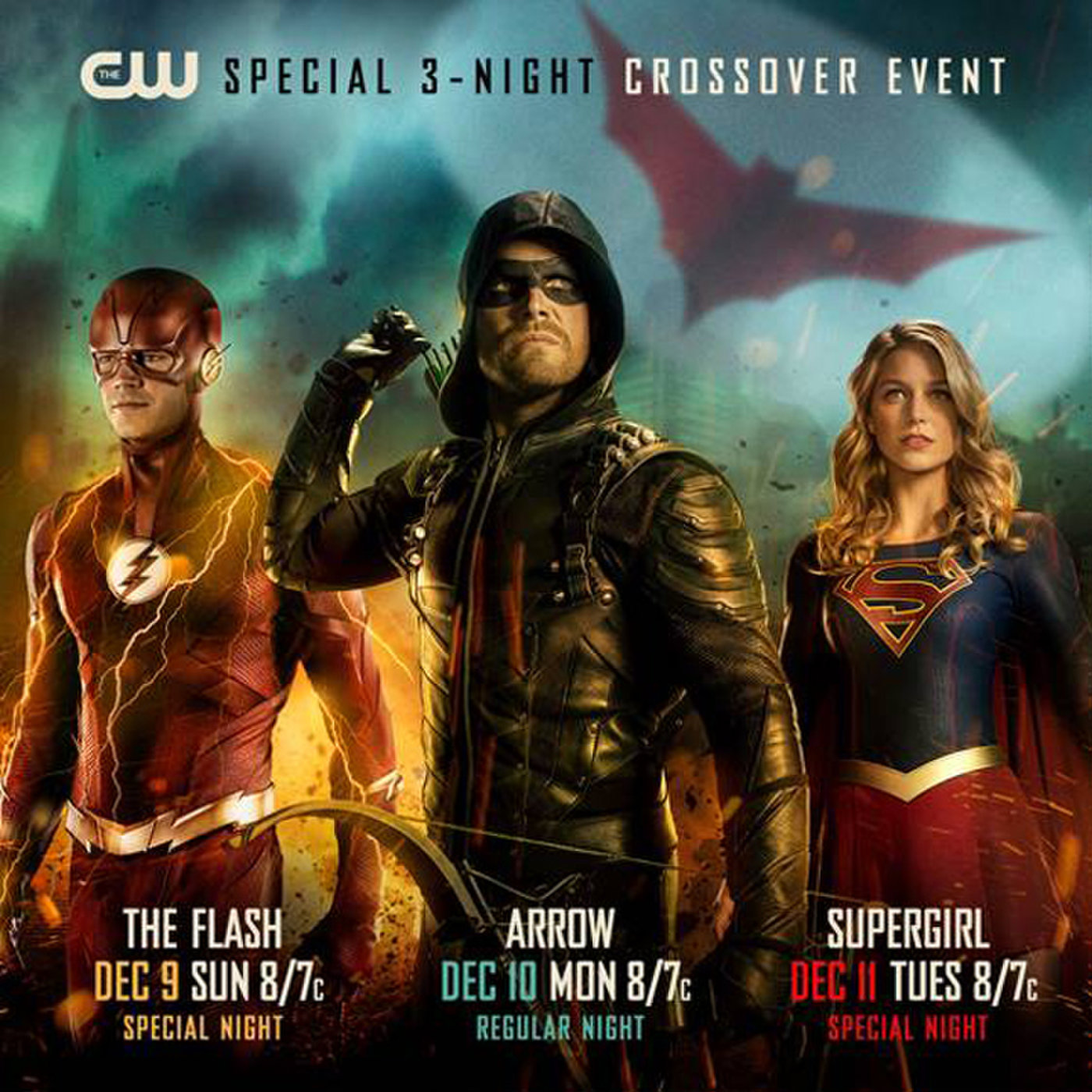 Cw Reveals More Details Of Its Dc Tv Arrowverse Cross Over With The Flash Arrow Supergirl Batwoman Debuts Superman Returns But No Dc S Legends Of Tomorrow Or Black Lightning Inside Pulse