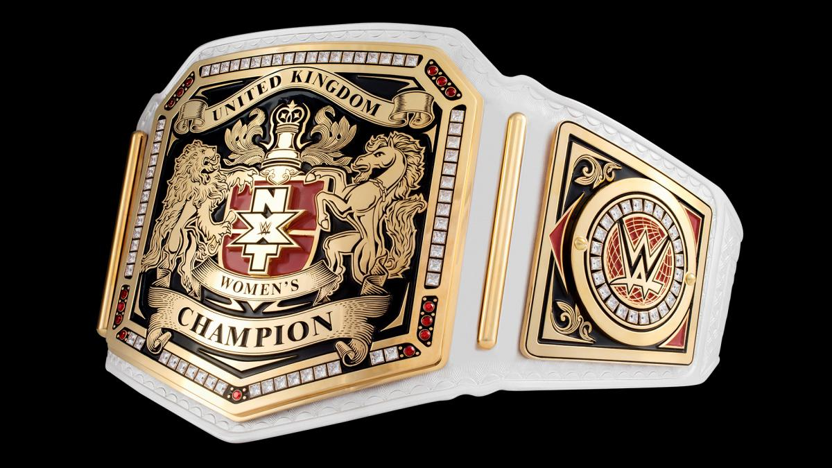 8797359d3 WWE Provides Closer   Clearer Look At New NXT UK Women s Championship Title  Belt  Photos