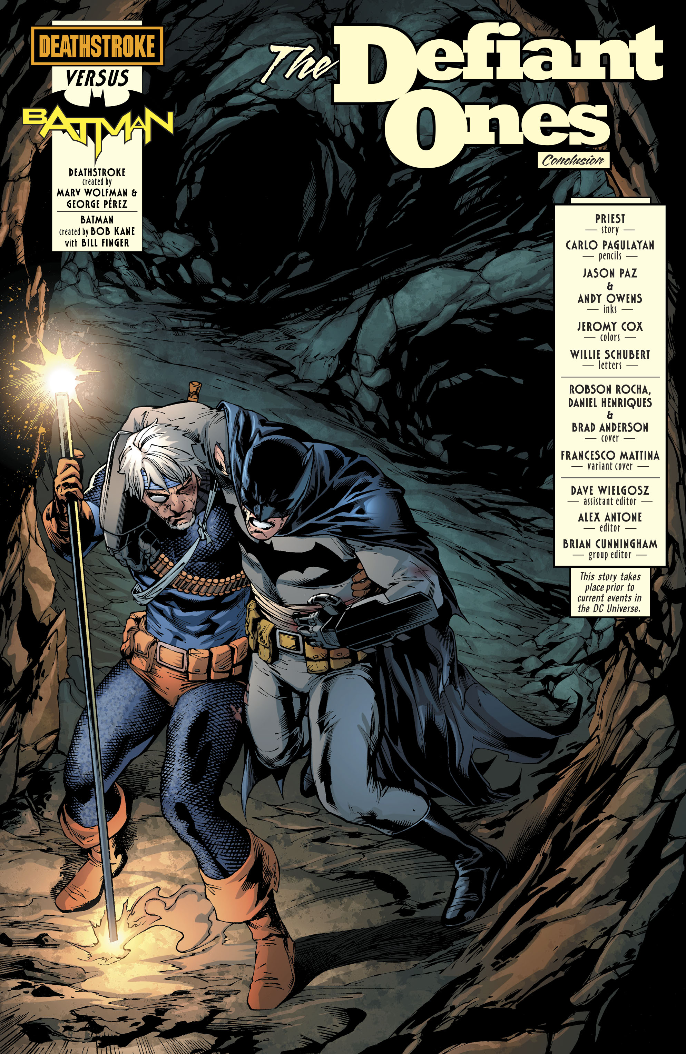 DC Comics Universe & Deathstroke #35 Spoilers: Who Won ...