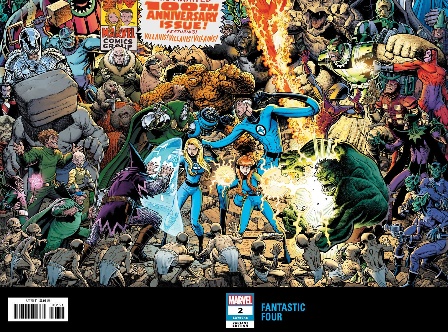marvel comics universe fantastic four 2 spoilers powerhouse
