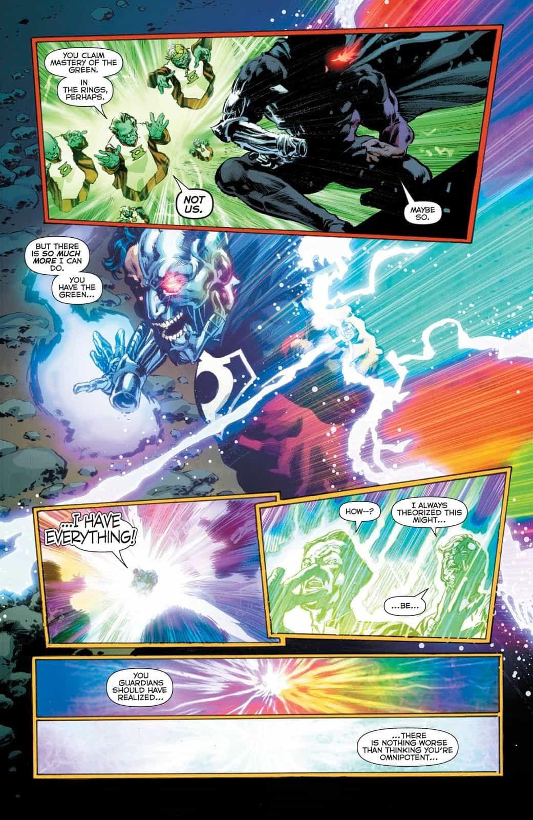 Dc Comics Universe Amp Green Lanterns 55 Spoilers Cyborg