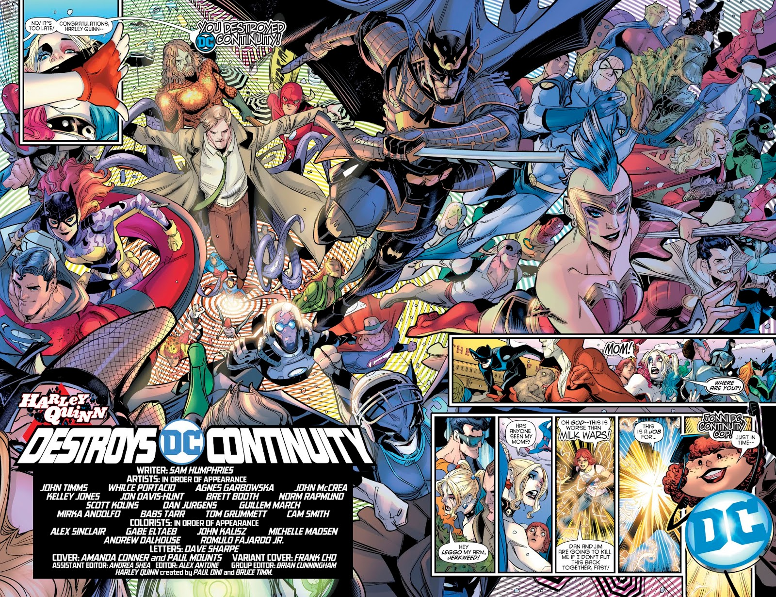 780f4bfa55a5 There s an up and down adventure throughout the book that includes the  Anti-Monitor!