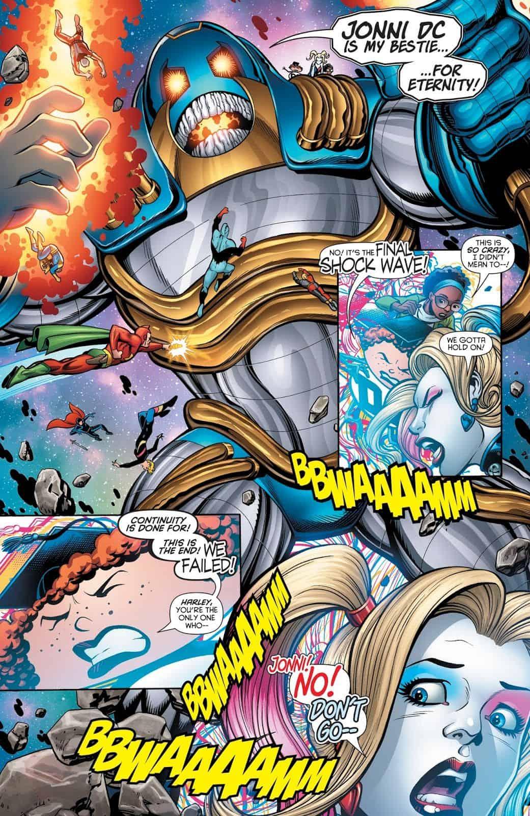 cc54e1841b58 DC Comics Universe   Harley Quinn  50 Spoilers  Harley Breaks ...