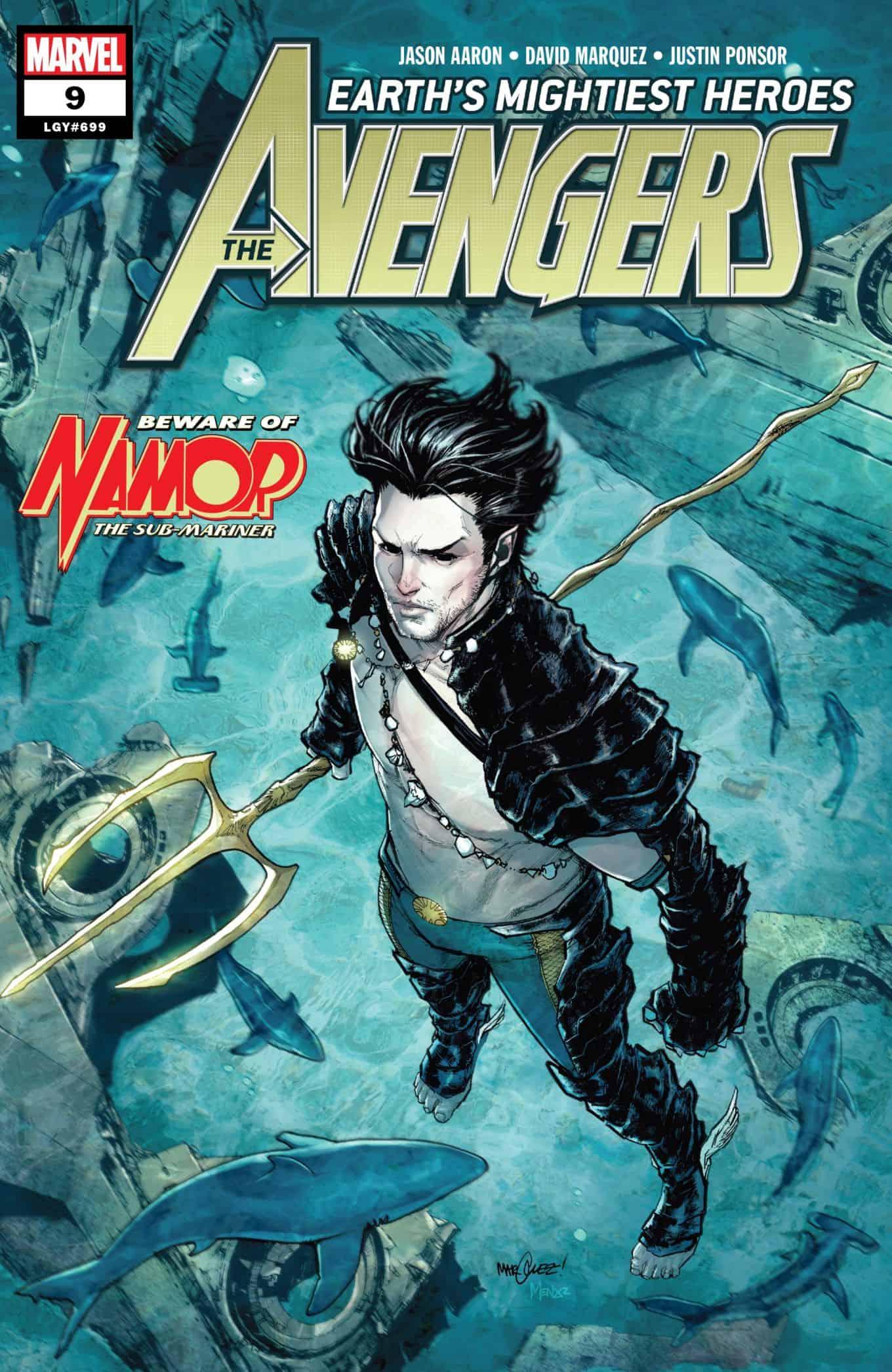 The Avengers: Marvel Comics Universe & Avengers #9 Spoilers: Namor